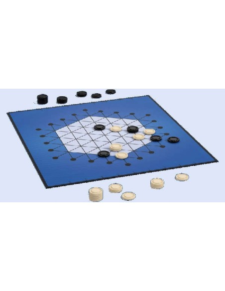 STANDS: 100x Plastic bases - 19x13 mm. - BLUE